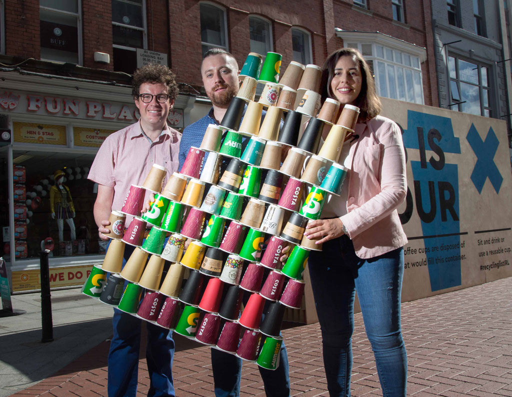 22,000 coffee cups disposed of in Ireland every hour