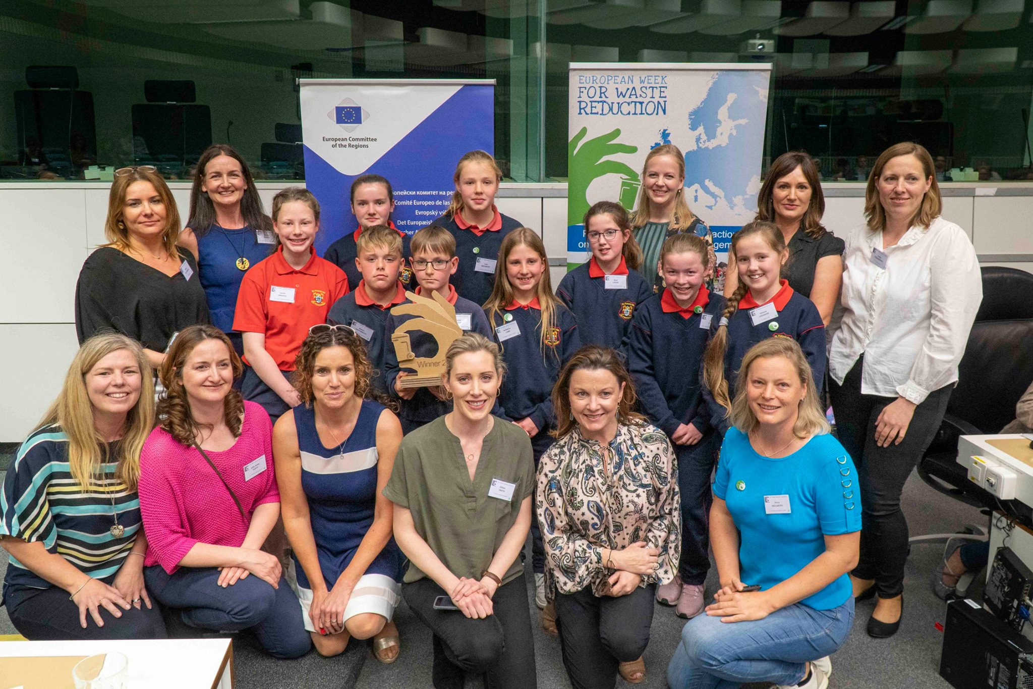 Ireland, for the Second Year Running Takes Home Prestigious Prize at Ceremony which Kicked off EU Green Week