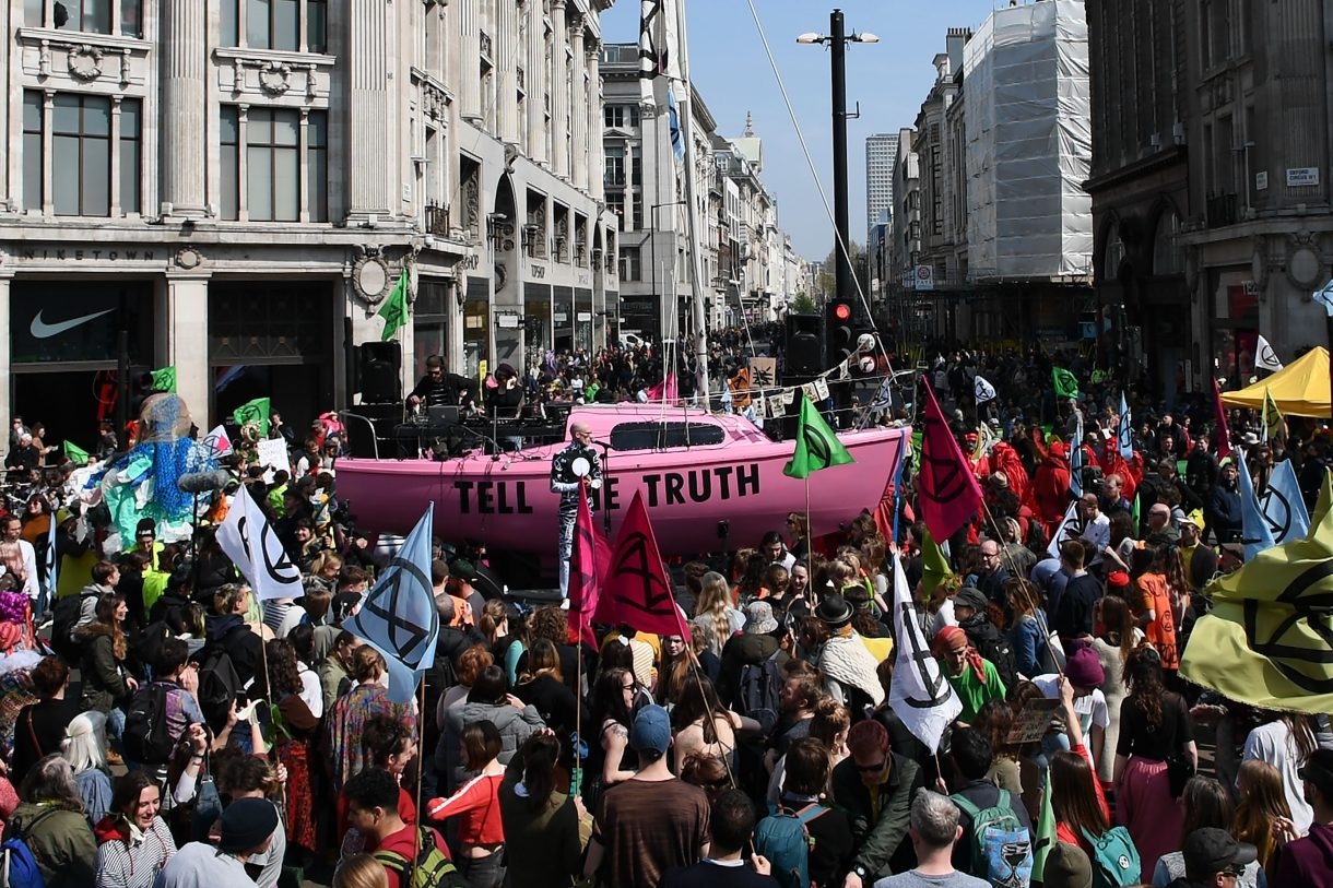 "Extinction Rebellion – ""This is not the end"""