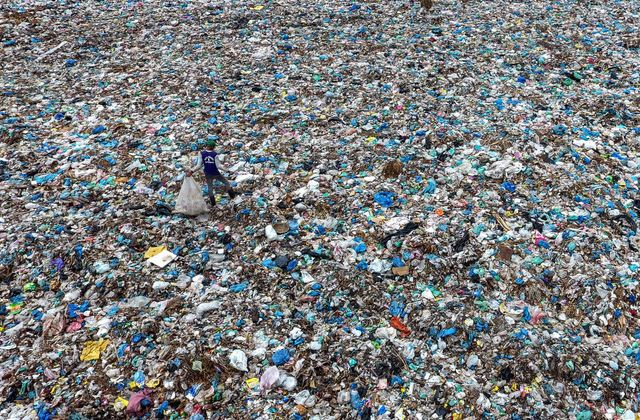 Plastic wasteland: Where the West sends its rubbish