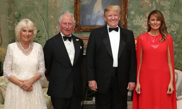 Donald Trump tells Prince Charles US has 'clean climate'