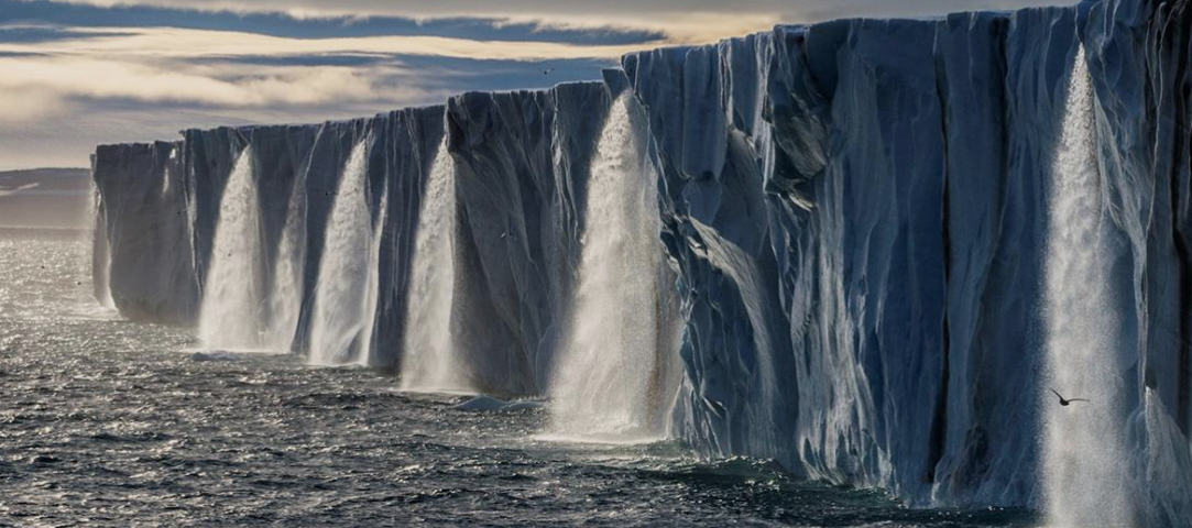 Oceans and ice are absorbing the brunt of climate change