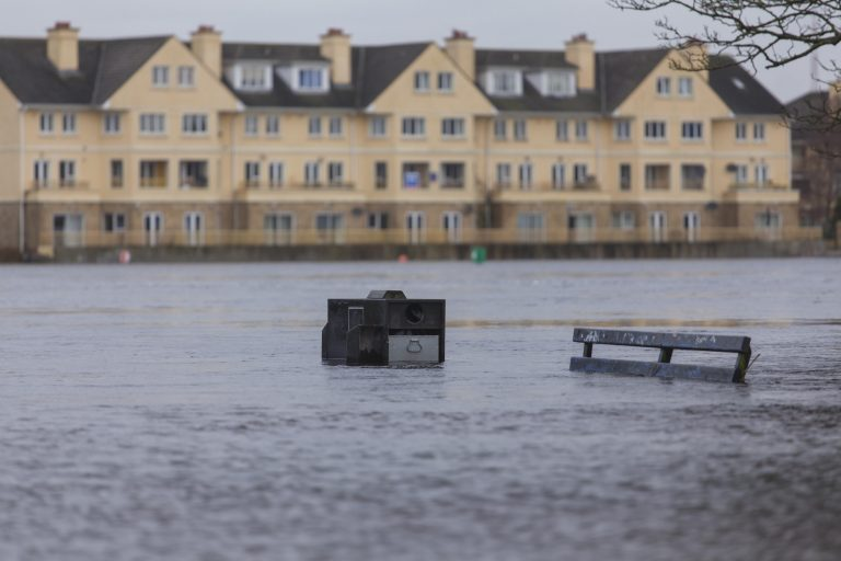 Irish floods becoming more severe due to climate impact