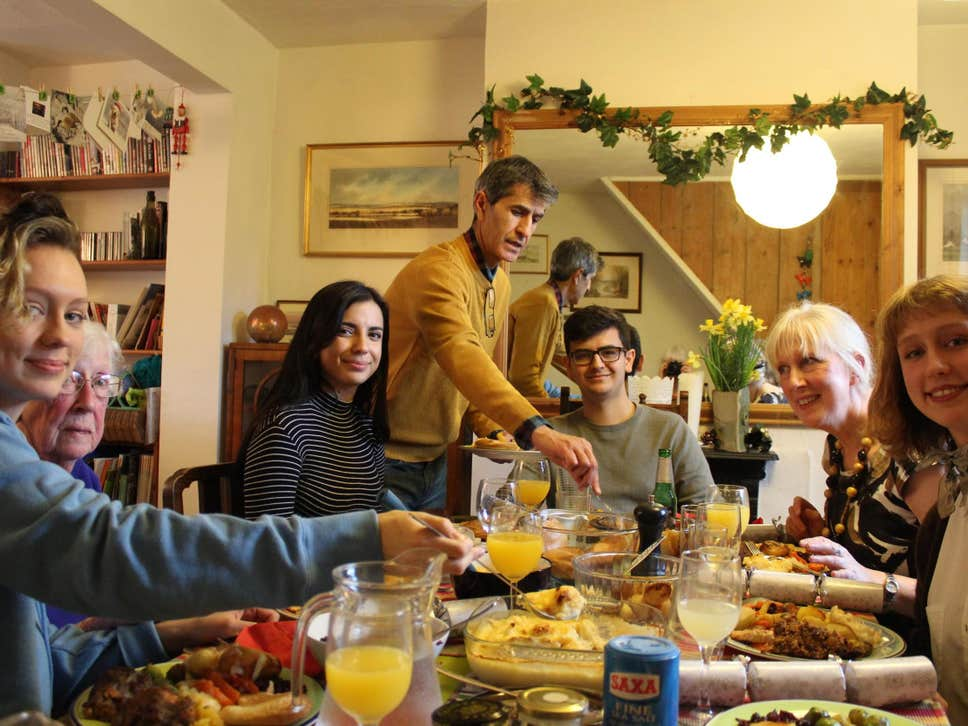 The families going present-free at Christmas to cut down on waste