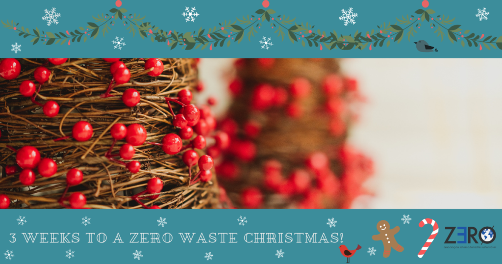 3 weeks to Christmas – ZERO plastics Christmas