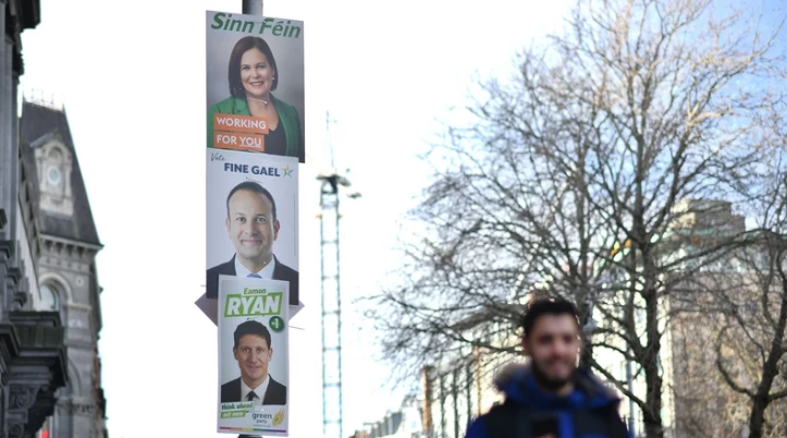 Does banning election posters affect voter turnout?