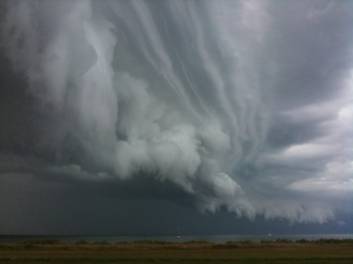 What's the link between storms and climate change?
