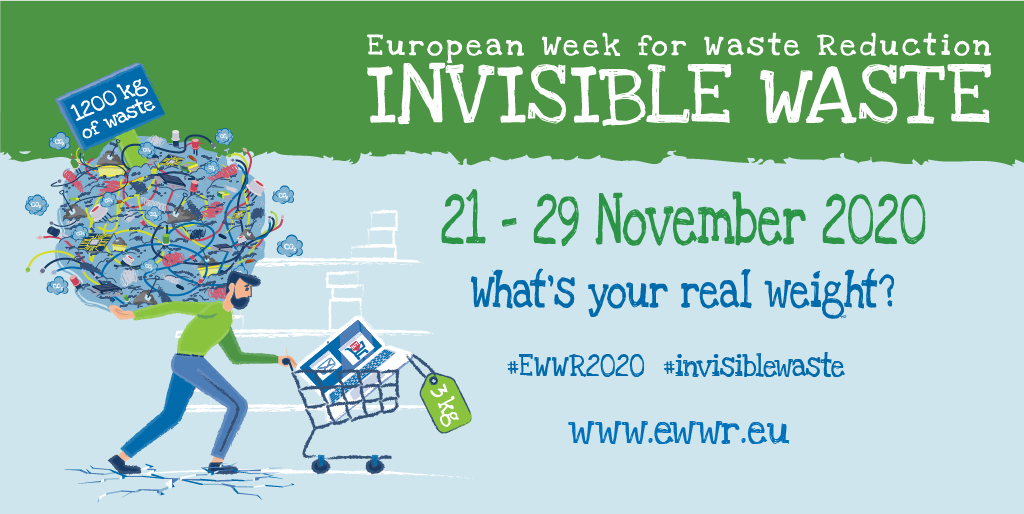 European Week for Waste Reduction 2020 Registrations are now open!