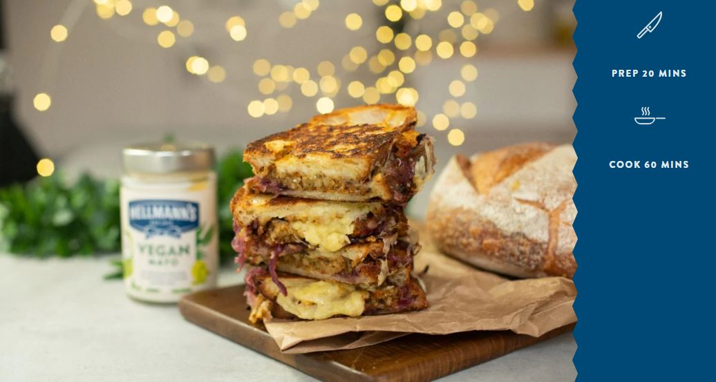 Stephen Fry's nut roast toastie