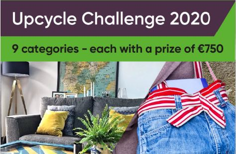 """County Wicklow School wins top marks for """"Covid Classroom"""" at this year's National Upcycle Challenge"""