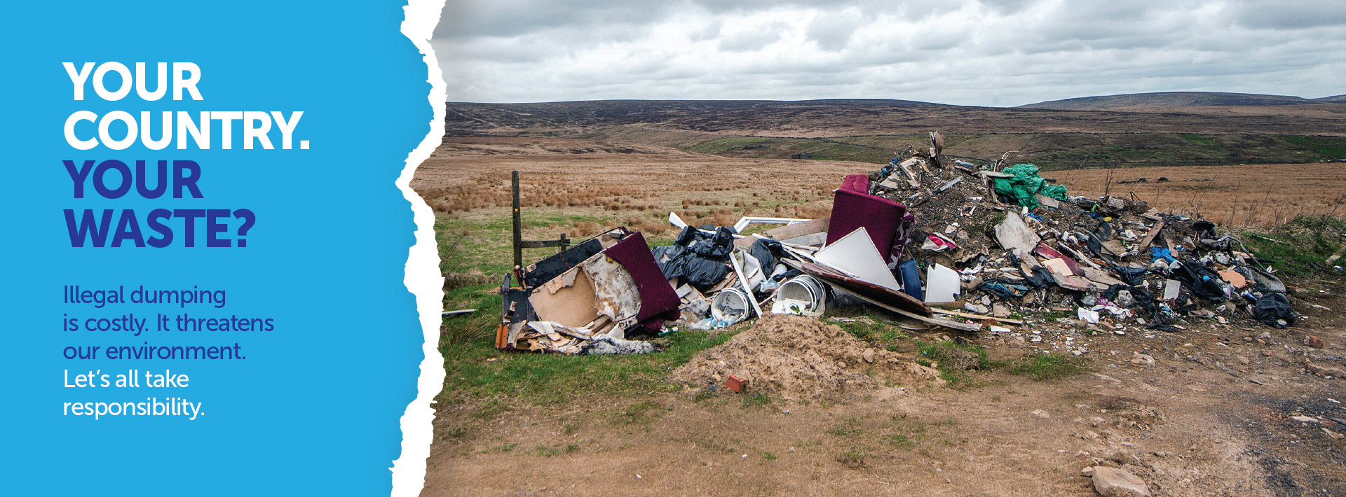 National Communications Campaign calls for all Citizens to get involved in the Fight Against Illegal Dumping