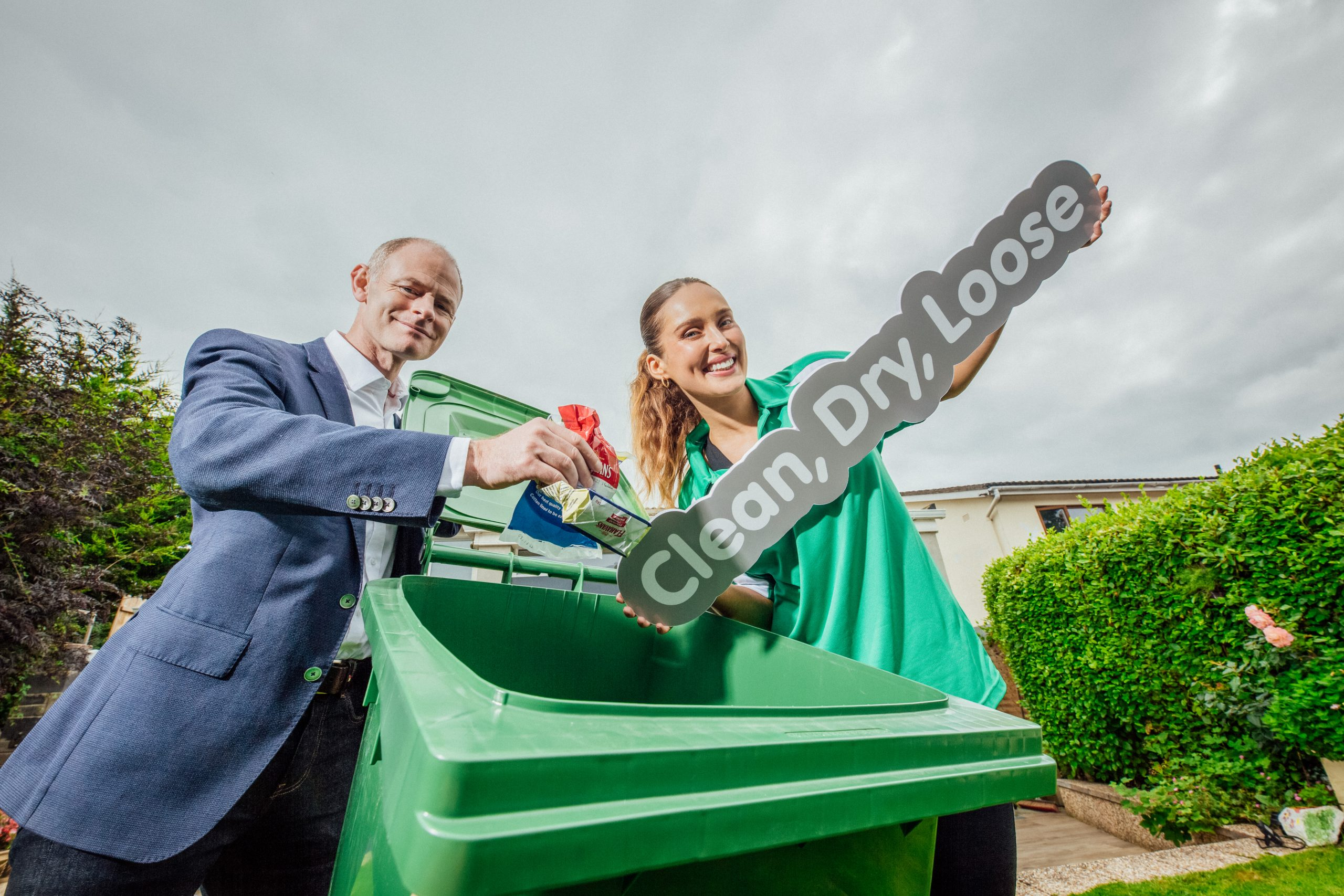 Recycling Changes announced as Soft Plastic Waste, that is clean, dry and loose, can now be placed in Irish Household Recycling Bins